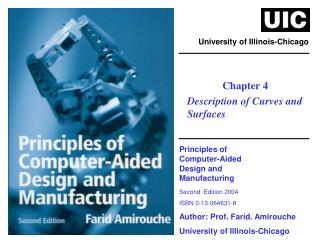Principles of  Computer-Aided  Design and  Manufacturing Second  Edition 2004 ISBN 0-13-064631-8