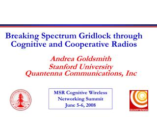 Breaking Spectrum Gridlock through Cognitive and Cooperative Radios