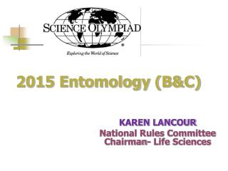 2015 Entomology (B&C)