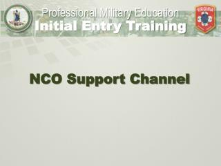 NCO Support Channel