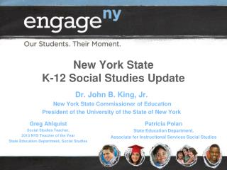 New York State  K-12 Social Studies Update