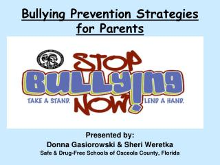 Bullying Prevention Strategies for Parents