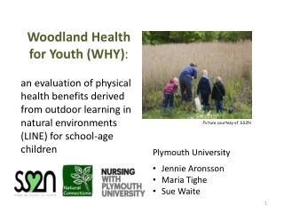 Woodland Health for Youth (WHY) :