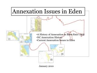 Annexation Issues in Eden