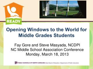 Opening Windows to the World for Middle Grades Students