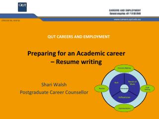 Preparing for an Academic career    Resume writing
