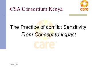 CSA Consortium Kenya