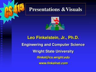 Presentations &Visuals