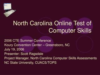 North Carolina Online Test of Computer Skills