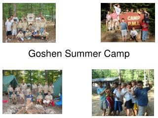 Goshen Summer Camp