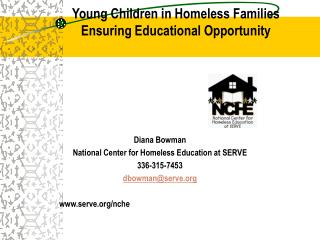 Young Children in Homeless Families Ensuring Educational Opportunity
