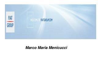 Marco Maria Menicucci