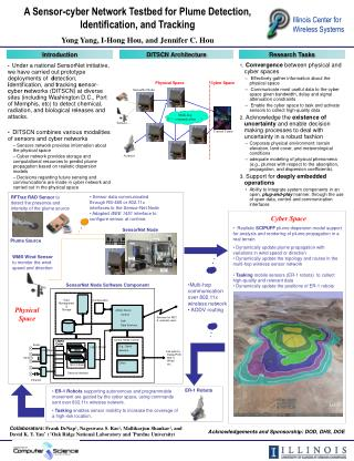 A Sensor-cyber Network Testbed for Plume Detection, Identification, and Tracking