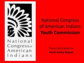 National Congress of American Indians  Youth Commission