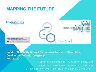 Dr Eleanor Perera, paediatric Trainee Dr Melanie Menden, paediatric trainee