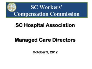 SC Workers' Compensation Commission