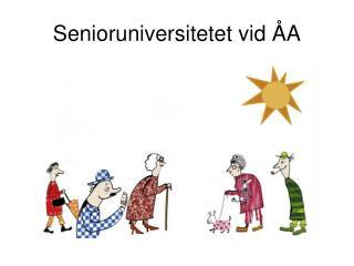 Senioruniversitetet vid �A