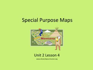 Special Purpose Maps