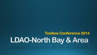 LDAO-North Bay & Area