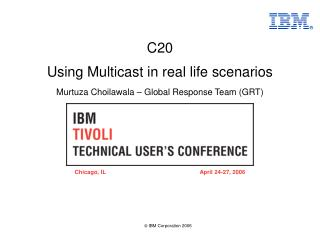 Using Multicast in real life scenarios