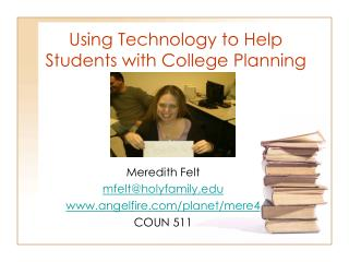 Using Technology to Help Students with College Planning
