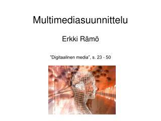 Multimediasuunnittelu
