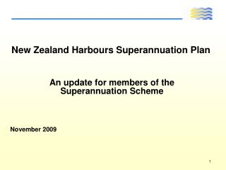New Zealand Harbours Superannuation Plan
