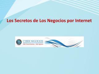Los Secretos de Los Negocios por Internet