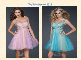 Top robes en 2013