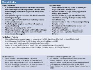 Medium Term Strategic Plan Mental Health v5