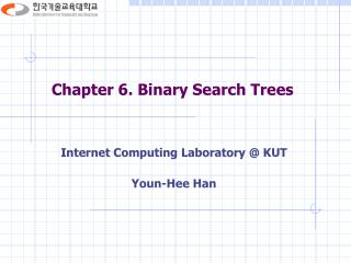 Chapter 6. Binary Search Trees
