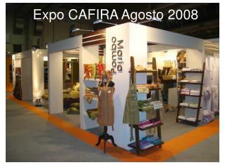 Expo CAFIRA Agosto 2008