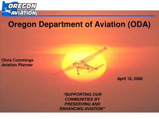 Oregon Department of Aviation (ODA)
