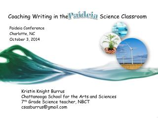 Coaching Writing in the                   Science Classroom