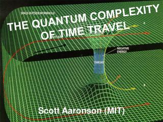 THE QUANTUM COMPLEXITY OF TIME TRAVEL