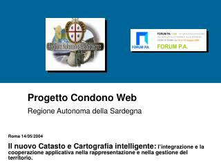 Progetto Condono Web