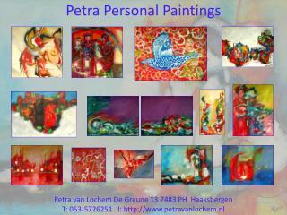 Petra  Personal Paintings