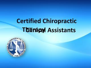 Certified Chiropractic