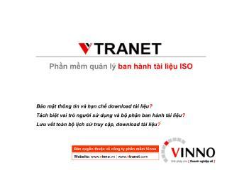 Phần mềm quản lý  ban hành tài liệu ISO