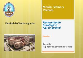 Docente:  Ing. Jonatán Edward Rojas Polo