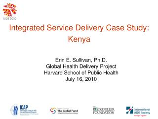 Integrated Service Delivery Case Study: Kenya