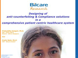 Designing of  anti-counterfeiting & Compliance solutions  in a