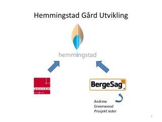 Hemmingstad  G�rd Utvikling
