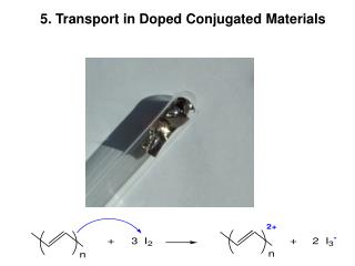 5. Transport in Doped Conjugated Materials