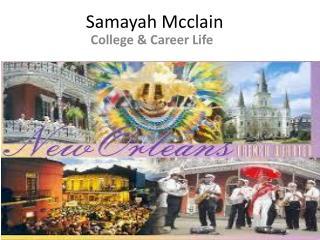 Samayah Mcclain