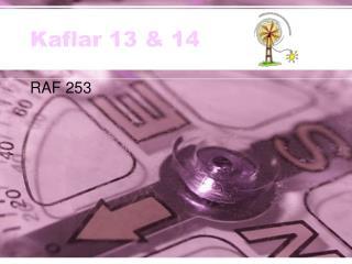 Kaflar 13 & 14