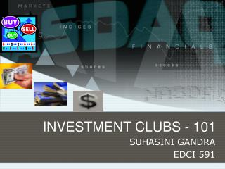 INVESTMENT CLUBS - 101