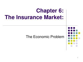 Chapter 6: The Insurance Market: