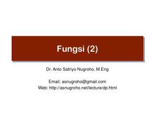 Fungsi (2)