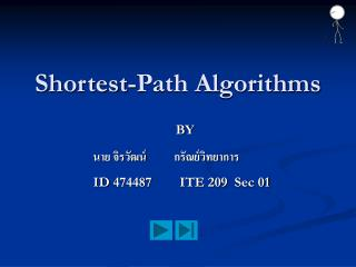 Shortest-Path Algorithms